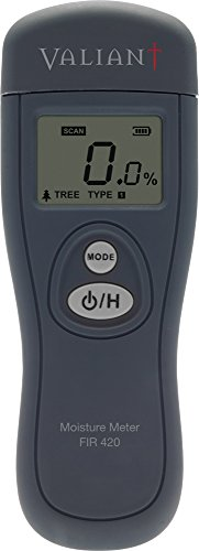 Valiant FIR420 Meter can Also be Used in Timber, Floors and Buildings in Order to detect and Measure Moisture Content