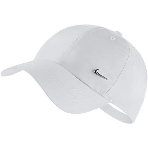 Nike H86 Metal Swoosh - Gorra blanco/plateado Talla única