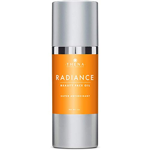 Anti Aging Face Oil Antioxidant Serum With Vitamin C & E Hyaluronic Acid Jojoba Argan Rosehip Oils,...