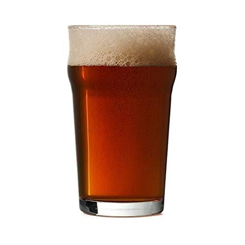 Nonic Pint-Gläser / Biergläser, Markierung bei 568 ml, 48 Stück