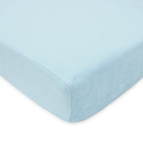 Find Bargain TL Care Heavenly Soft Chenille Fitted Crib Sheet for Standard Crib and Toddler Mattress...
