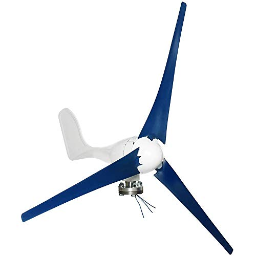COUYY Wind Turbines Generator, Wind Turbines Generator600W 3 Blades Horizontal Wind Generator With Controller Windmill Energy Charge12V/24V,12v