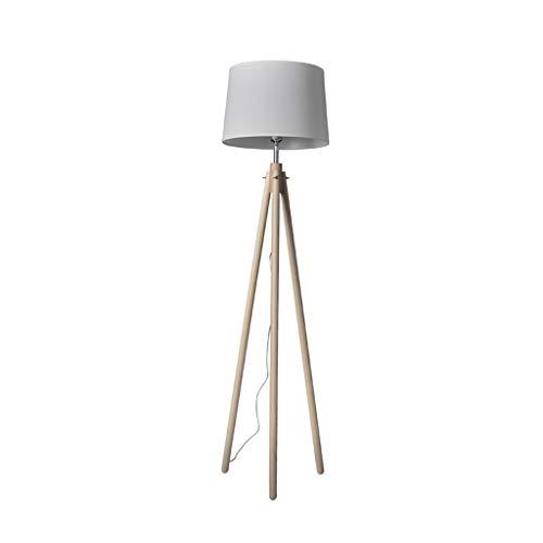 Tripod Floor Lamp-LED-leeslamp Staande Lamp-Modern Design Studeren Lamp for woonkamer/slaapkamer/studeerkamer en Office (Color : Khaki, Size : 45cm*155cm)