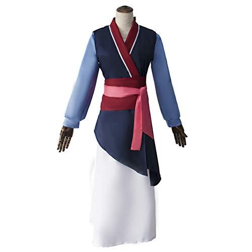 ZLLZM Mujer Chino Tradicional Hanfu Hua Mulan Princesa Cosplay Costume Elegante Retro Kimono Robes