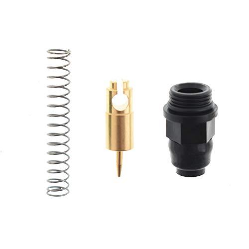 labwork Carburetor Choke Starter Plunger Valve Rebuild Kit Replacement for Yamaha YFM350 YFM400 YFM660