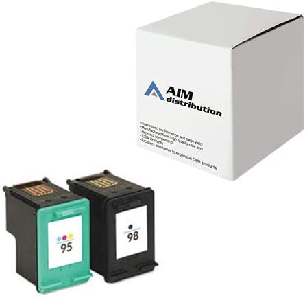 AIM Compatible Replacement for HP NO. 95/98 Inkjet Combo Pack (Black/Color) (CB327FN) - Generic