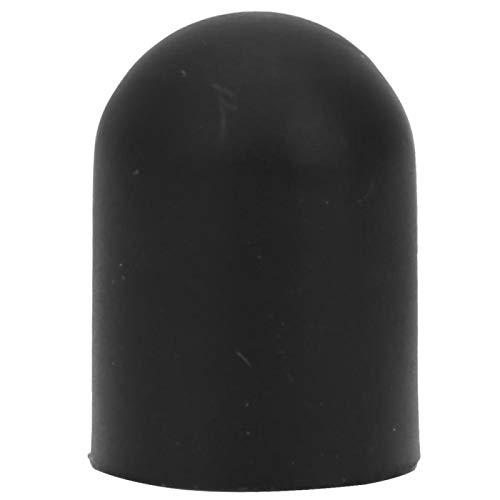 DAUERHAFT Soporte Antideslizante del pie del pie de Apoyo de la Vespa eléctrica del silicón Durable, Conveniente para la Vespa eléctrica(Black)