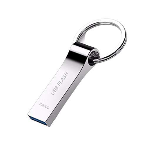 USB Stick 1TB USB3.0 Speicherstick USB 1000GB Mini Speicherstick Pen Drive USB-Stick Memory Stick mit für PC Laptop
