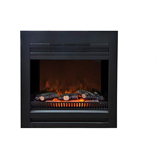 Einsatz für elektrischen Kamin Lucius von Ruby Fires, Leistung 0–900–1800W zuschaltbar, als Wandkamin in Trockenbauplatten einbaubar oder mit einem passenden Rahmen von Ruby Fires