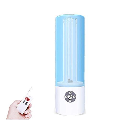 Lampada per sterilizzazione UV Lampada Antibatterica Ultravioletta Integrata con disinfezione Tubo 60W UV-C Portatile disinfettante LED Timer Luce Ritardo di 30 Secondi per L'Avvio
