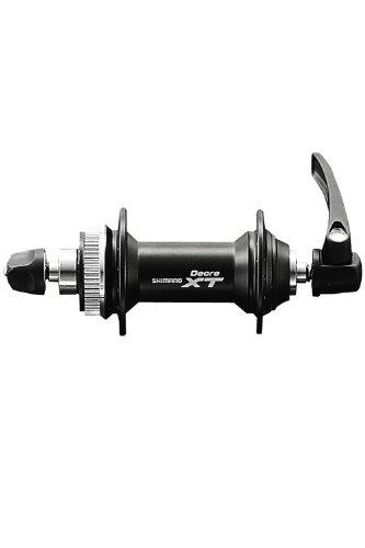 Shimano XT M775 32 fori di blocco centrale Q/R nero mozzo disco anteriore