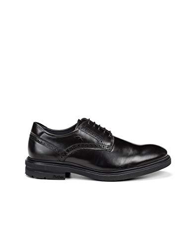 Fluchos | Vestir de Hombre | BELGAS F0630 Sierra Negro Zapato de...
