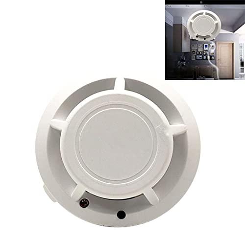 ZZALLL Alarmas de Humo Detector de Humo Independiente operado por batería Alarma de Incendio con 85dB Loud/Light Seguridad de Garaje para el hogar