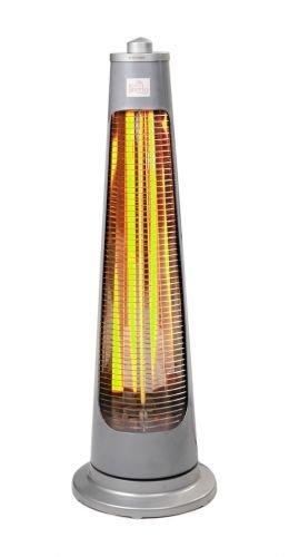 Firefly 900 Watt Oszillierender Infrarot-Heizstrahler (Quarz) Terrassenheizung, freistehend, 2 Leistungsstufen - 4