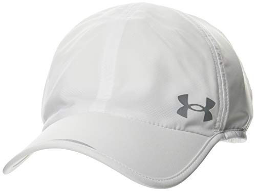 Under Armour Men's Launch Run Hat , White (100)/Reflective , One Size Fits Most