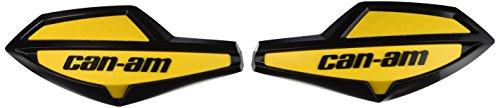 Can-Am 715000525 Black/Yellow ATV Handlebar Wind Deflector