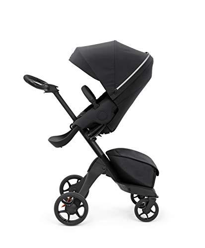 Stokke Xplory X Stroller - Multifunktions-Kinderwagen mit schützenden, ergonomischen Sitz - Farbe: Rich Black