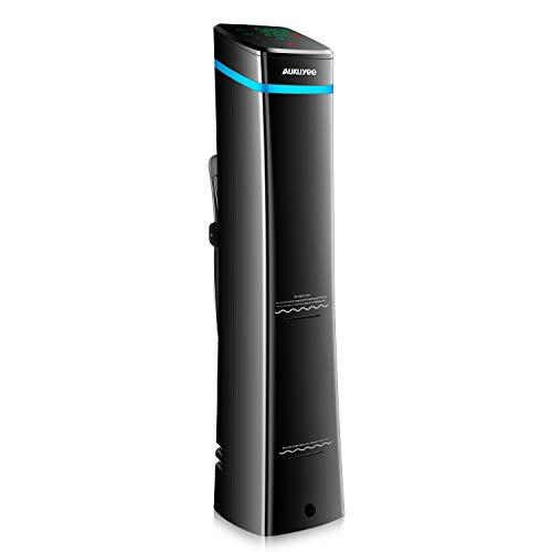 AUKUYEE Sous Vide WiFi Cooker Stick Circolatore di Immersione Temperatura di Precisione Touch Screen Display ergonomica per adattarsi a qualsiasi pentola Ultra Silenzioso con Ricetta 1100W SHQ03