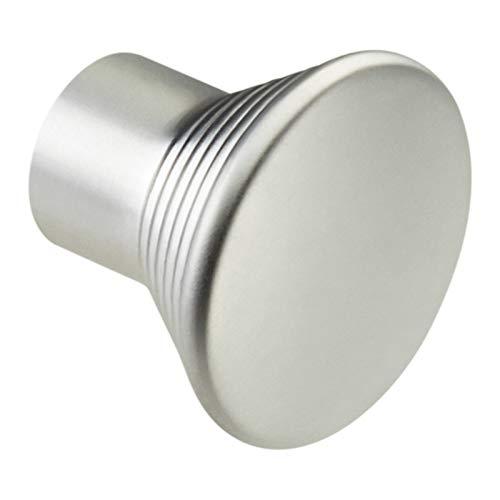 1 x SO-TECH® K-04 Möbelgriff Möbelknopf Möbelknauf Chrom matt Ø 24 mm