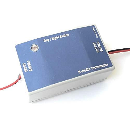 R-Media Technologies : 240v AC Automatic Day Night Switch | Dusk to Dawn Switch | LDR Sensor Switch