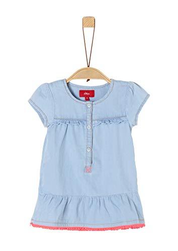 s.Oliver Junior Baby-Mädchen Kleid Kinderkleid, 53Y2 Blue Denim Non STR, 86