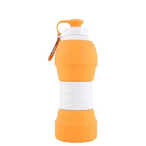 Bidones para Agua Ciclismo Vaso De Agua Plegable Botellas De Agua Reutilizables...