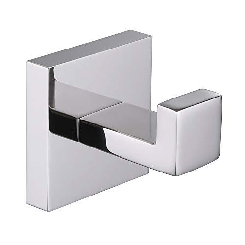 Bath Towel Hook, Angle Simple Solid Metal Bathroom...