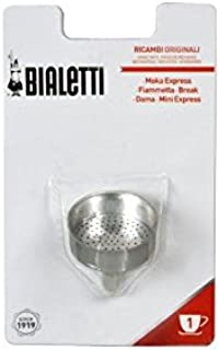 Bialetti 0800101Funnel–Stainless Steel 12x 5.5x 19cm