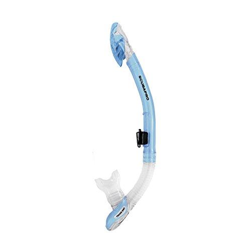 Scubapro Fusion Dry Schnorchel (ice-blau)