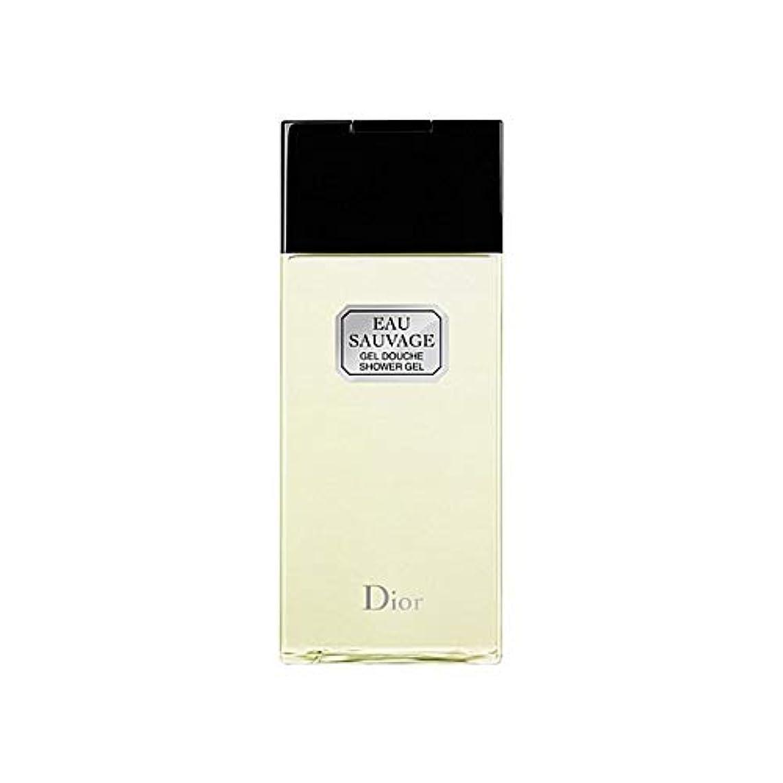 荒廃する苗歴史的[Dior ] ディオールオーソバージュシャワージェル200Ml - Dior Eau Sauvage Shower Gel 200ml [並行輸入品]