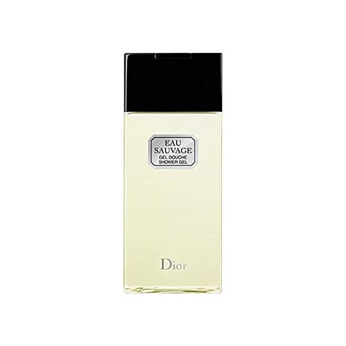 傾斜起こるぼんやりした[Dior ] ディオールオーソバージュシャワージェル200Ml - Dior Eau Sauvage Shower Gel 200ml [並行輸入品]