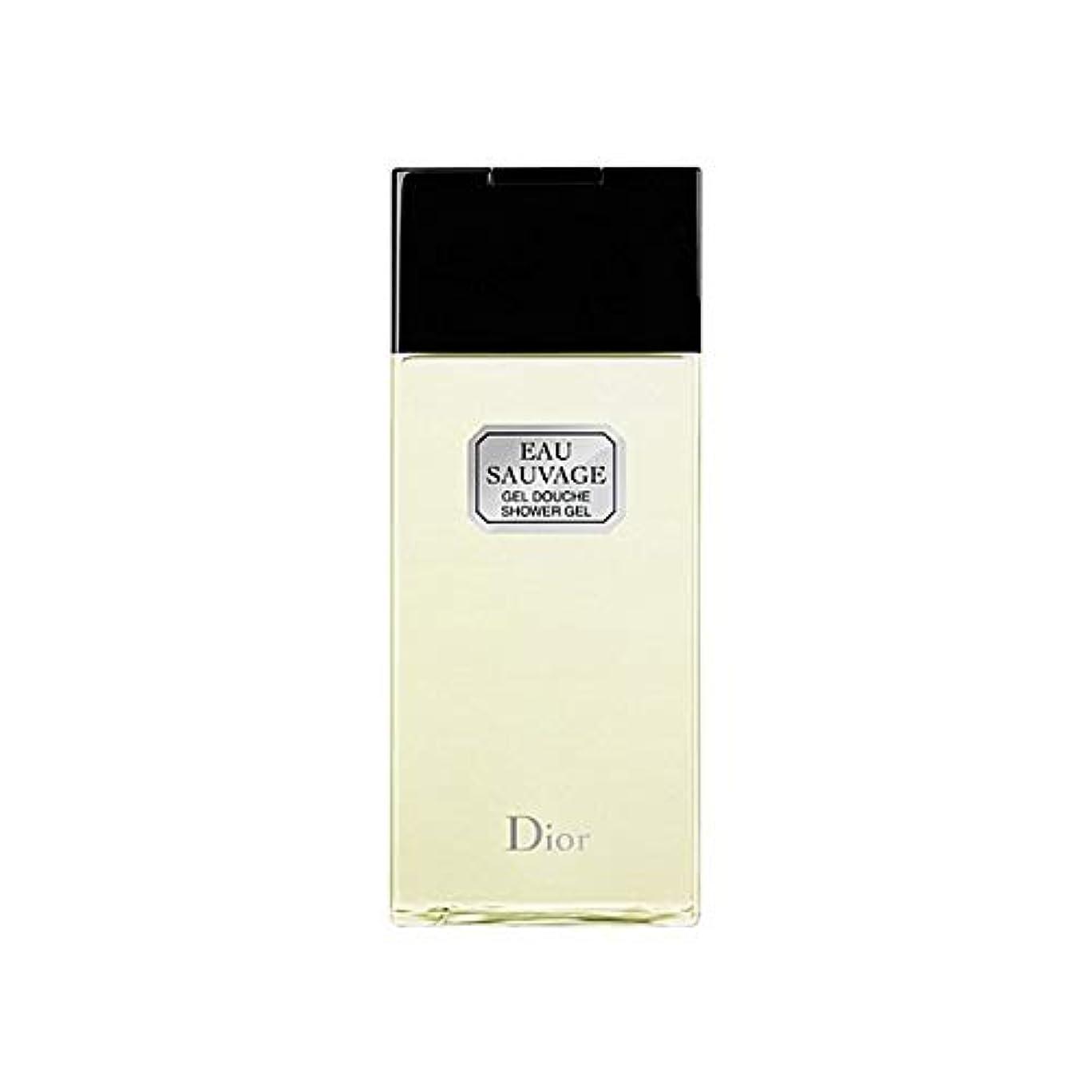 聖域ひらめき灰[Dior ] ディオールオーソバージュシャワージェル200Ml - Dior Eau Sauvage Shower Gel 200ml [並行輸入品]