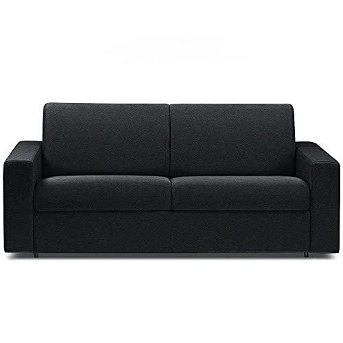 Canapé Convertible rapido CRÉPUSCULE Matelas 120cm Comfort BULTEX® Simili PUnoir