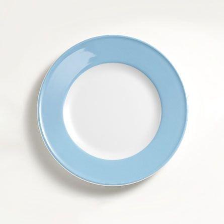 Dibbern Sc Teller Flach 21 cm Fahne Hellblau