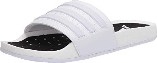 adidas Adilette Boost Slide Sandal - White