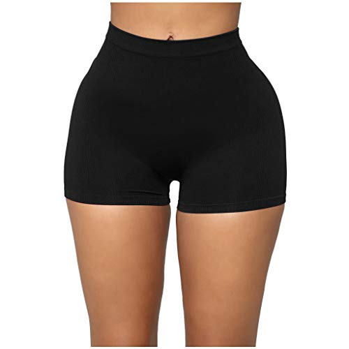 Best Buy! Workout Shorts for Women - Solid Color Seamless Sport Shorts All Day Comfort High Waist Yo...