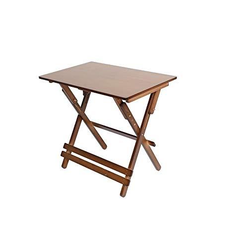 INSTO Bambus Klapp- Tisch,Studie Tisch,Kaffee Tisch,Bucht Fenster Tisch,Snack Tisch Schreibtisch Gesundheit Und Umwelt- Schutz/A / 70×40 cm