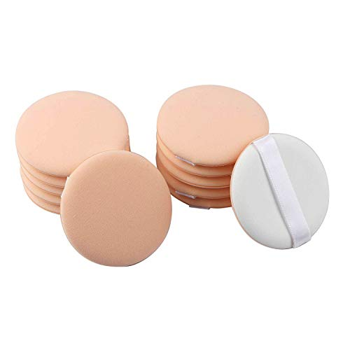 Air Cushion Powder Puff, 12PCS Soft Makeup Foundation Sponge Air Cushion Powder Puff for Applying BB Cream Liquid Cream Shading Loose Powder