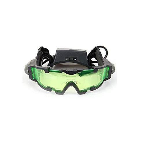 Gafas de visión nocturna de alta calidad con luz LED abatible para actividades nocturnas