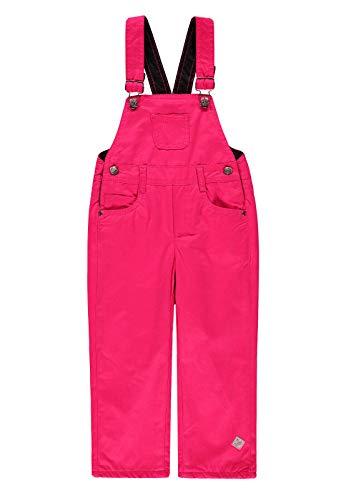 Kanz® Mädchen Latzhose mit Fleece gefüttert, Größe:116, Präzise Farbe:Pink