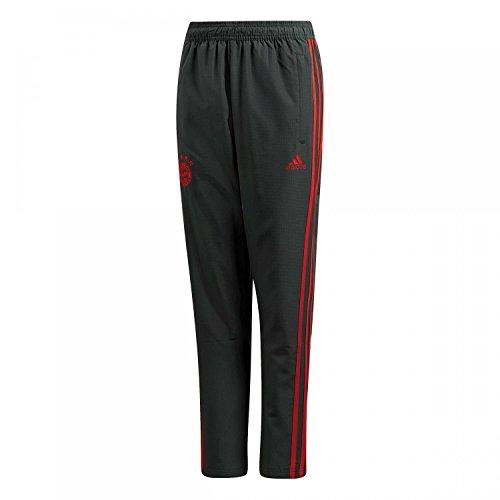 adidas Kinder Hose 18/19 FC Bayern Woven, Utility ivy/red, 164, CW7248