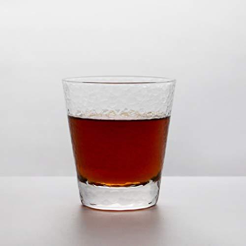 LRW Eenvoudige Hammer Texture theekopje Repast Koude Drank Mug Crystal Glasses Kop van Beer Mug Japanse Green Tea Mug 230ml ~ 420ml (Size : XS)