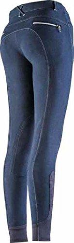 Equit'm Pantalone Equitazione Ragazza Equi-Theme Zipper Abbigliamento Equitazione Pantaloni