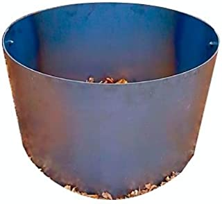 Steel Fire Pit Campfire Ring Liner Metal Insert 18