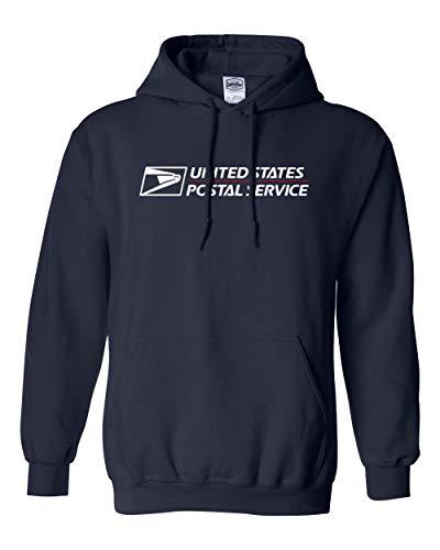 USPS Hoodie postal hoodie United States Service Eagle (Navy, Large)