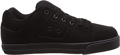 DC Herren Pure - Shoes for Men Low-Top, Schwarz (BLACK/PIRATE BLACK), EU 44/UK 9.5