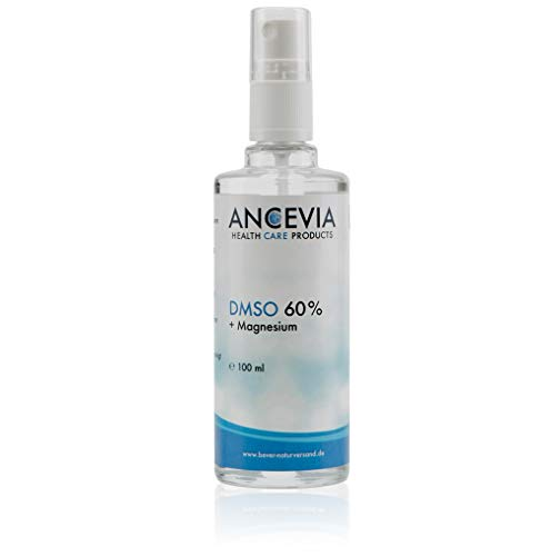 ANCEVIA® DMSO 60 mit Magnesium 100ml - Dimethylsulfoxid + Magnesiumchlorid - als Spray - DMSO mit 99,9% Reinheit Ph. Eur