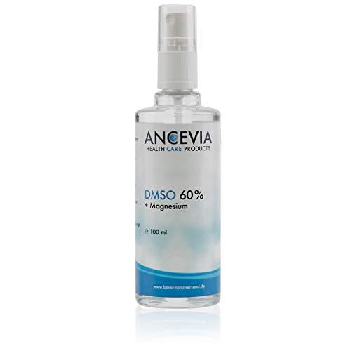 ANCEVIA® DMSO 60 con magnesio 100 ml - dimetilsulfóxido + cloruro de magnesio - como spray - DMSO con 99.9% de pureza Ph. Eur