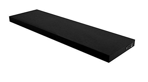 Duraline 1185003 Shelf wandrek met geïntegreerde draadloze luidsprekers zwart