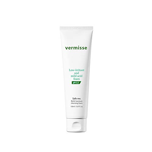 Vermisse Amino acids Sensitive Skin Facial Cleanser Comforting Cleansing LotionWeak Acid